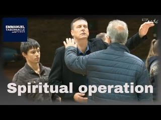 Embedded thumbnail for Spiritual operation on the shoulder of this man